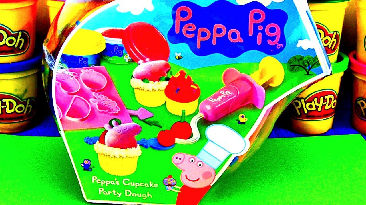 Peppa Pig Play Doh Cupcake Set How to Make Peppa Pig Cupcakes