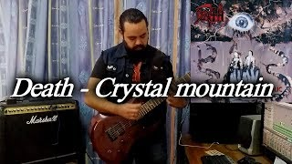 death crystal mountain guitar cover solo metal shinobi