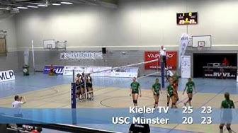 Volleyball 2. Bundesliga Frauen, Kieler TV - USC Münster II