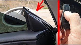 Как Настроить Автоматическое Складывание Боковых Зеркал на Mercedes CLS, W211, W219
