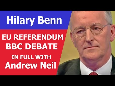 Hilary Benn 'Car-Crash' Brexit Interview. Can't Win A Single Fu**ing Argument. #Brexit Andrew Neil.