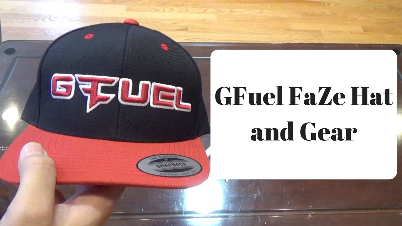 7a39f830 GFuel FaZe Hat and Shirts Unboxing - YouTube