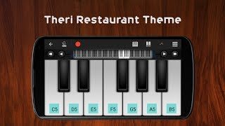 family meet at restaurant theme theri perfect piano cover