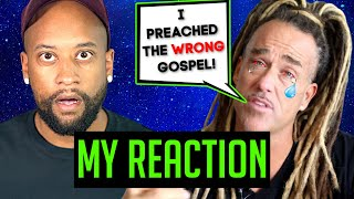 Todd White BREAKS DOWN! Admits WRONG Gospel Message!