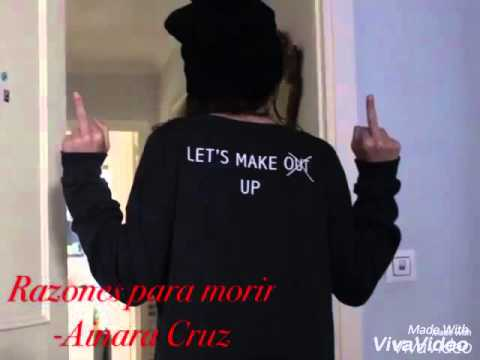 Razones para morir Ainara Cruz