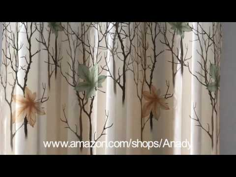Anady Top Find The Best Beauty of The Seasons Curtains 2017 New Series on Amazon