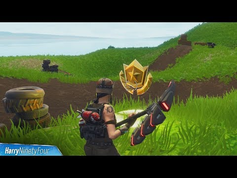 Fortnite Battle Royale - Salty Springs Treasure Map Location Guide (Season 4 Challenge)