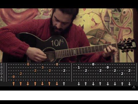 Radiohead - Street Spirit (Fade Out) Gitar Dersi - AKOR ve TAB - (GUITAR LESSON & TABS)
