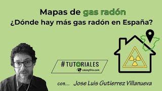 Mapa del gas radón | Jose Luis Gutiérrez Villanueva