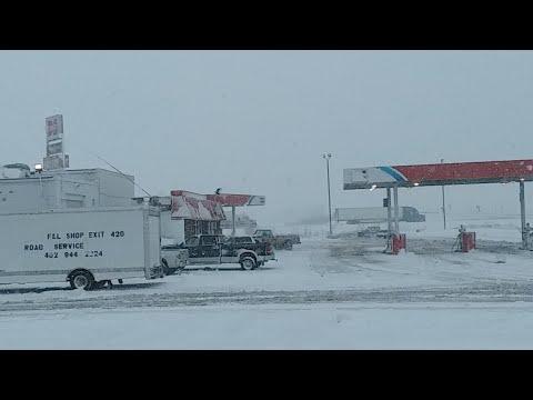 Nebraska Snow Storm.