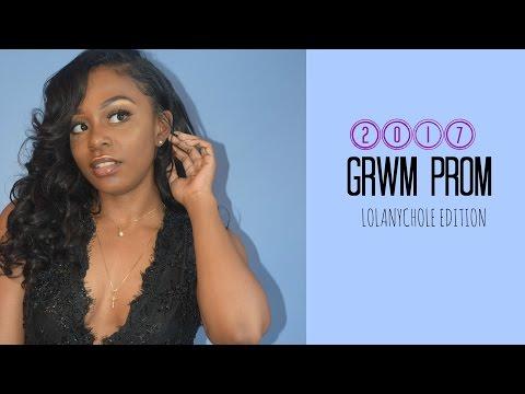 GRWM PROM 2017
