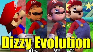 Evolution Of Characters Dizzy In Super Smash Bros Series (Drunk) (Original 12 Characters)