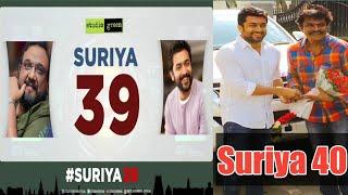 Suriya 39 & Suriya 40 Latest News | Suriya Latest Update | Suriya | Soorarai Pottru