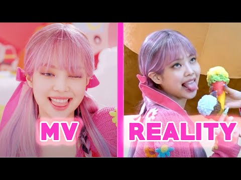 BLACKPINK 'ICE CREAM' MV vs REALITY