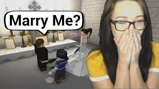 REAL LIFE ROBLOX MARRIAGE PROPOSAL