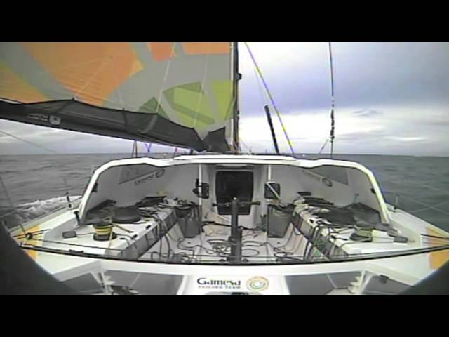 14 January 2013 Mike Golding & Gamesa footage from the Vendée Globe