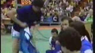 1980 Moscow Olympics Basketball : Yugoslavia vs. Italy