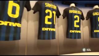 Il nuovo spogliatoio dell Internazionale FC - New Dressing Room in San Siro HD