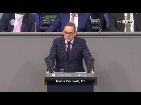 """Bundestag.""""Das Dogma in Deutschland heißt: Einwanderung statt Kinder"""" Martin Reichardt AfD 26.11.20"""