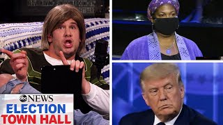 Trump Answers Sassy Woman's Question On Healthcare   Louder With Crowder
