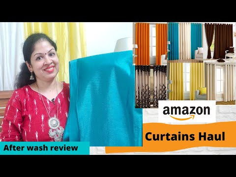 Amazon Curtains Haul| Amazon Haul |Amazon Home Decor Haul |amazon favorites amazon haul 2020