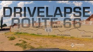 Route 66 Timelapse - From Chicago to LA in 3 Minutes