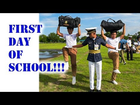 Reception Day at the Philippine Merchant Marine Academy : First Day of School!!!