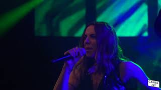 Mel C Performaning Live at Manchester Pride main stage 2017.