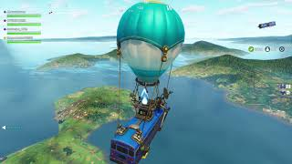 Battle Bus leaves the Battle Royale Island - Fortnite Glitch