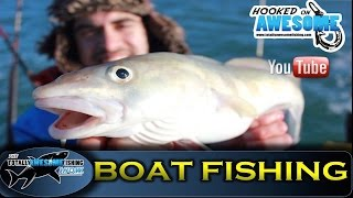 Boat Fishing in Winter - TAFishing Show