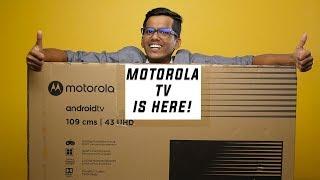 "Motorola 43"" 4K TV Unboxing & detailed features overview!"