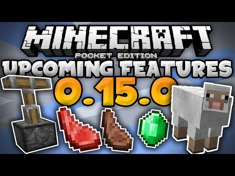 MCPE 0.15.0 UPDATE NEWS - Texture Packs, Trading, Pistons, & More! - Minecraft PE (Pocket Edition)