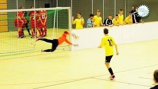 """""""Fußball in Göttingen"""" Halbfinale Sparta Gö. vs. 1SC Göttingen 05 des u17 Turniers vom 22.12.2013"""