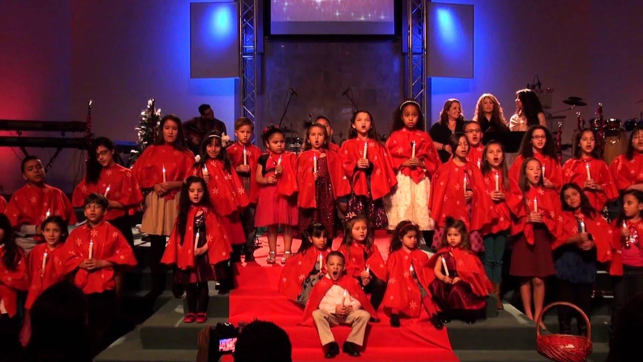 Boy And Girl Wallpaper Images Bethel Children Singing Christmas Carols Christmas 2012
