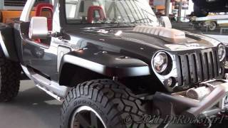 Chrysler concepts 5: Jeep Hurricane 2 HEMIs 670 hp Carbon Fiber Body