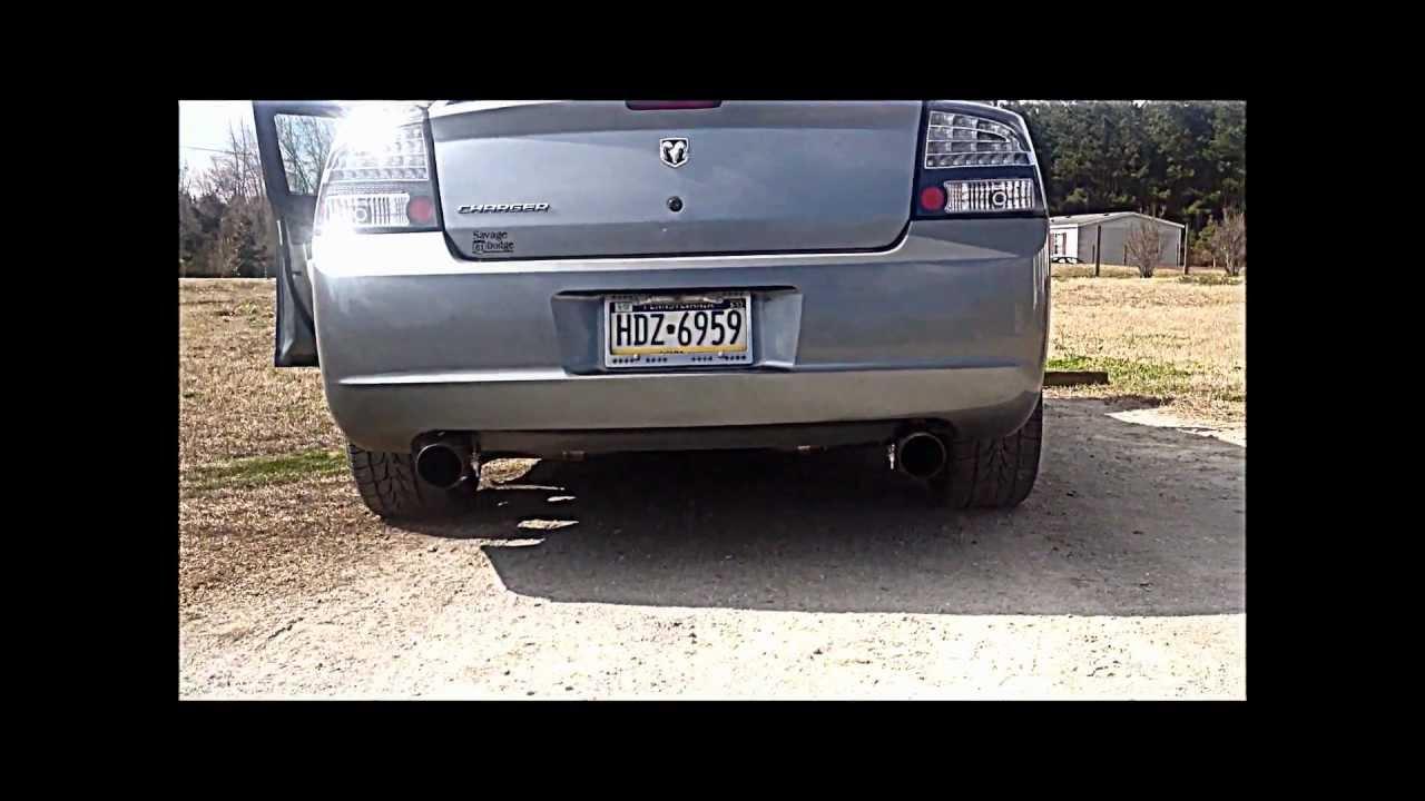 Custom Dodge Charger >> 2006 SuperCharged Dodge Charger V6 3.5L - YouTube