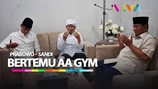 Download Pertemuan Prabowo/Sandi Dengan AA Gym Jelang Debat Terakhir Mp3 and Videos