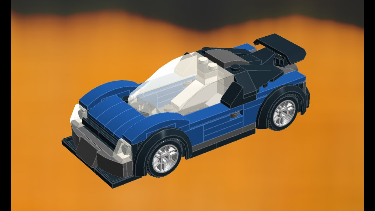 lego speed champions blue gt supercar moc 2017 model how to build tutorial youtube. Black Bedroom Furniture Sets. Home Design Ideas