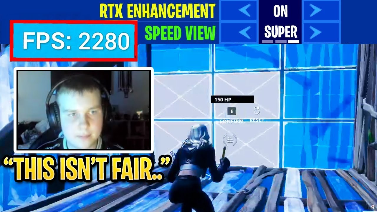 Benjyfishy Shows UNFAIR Editing SPEED With NEW RTX 3080 in Fortnite Season 4