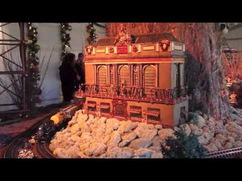 Best Holiday Train Show at New York Botanical Garden 2016 , the Largest ever!