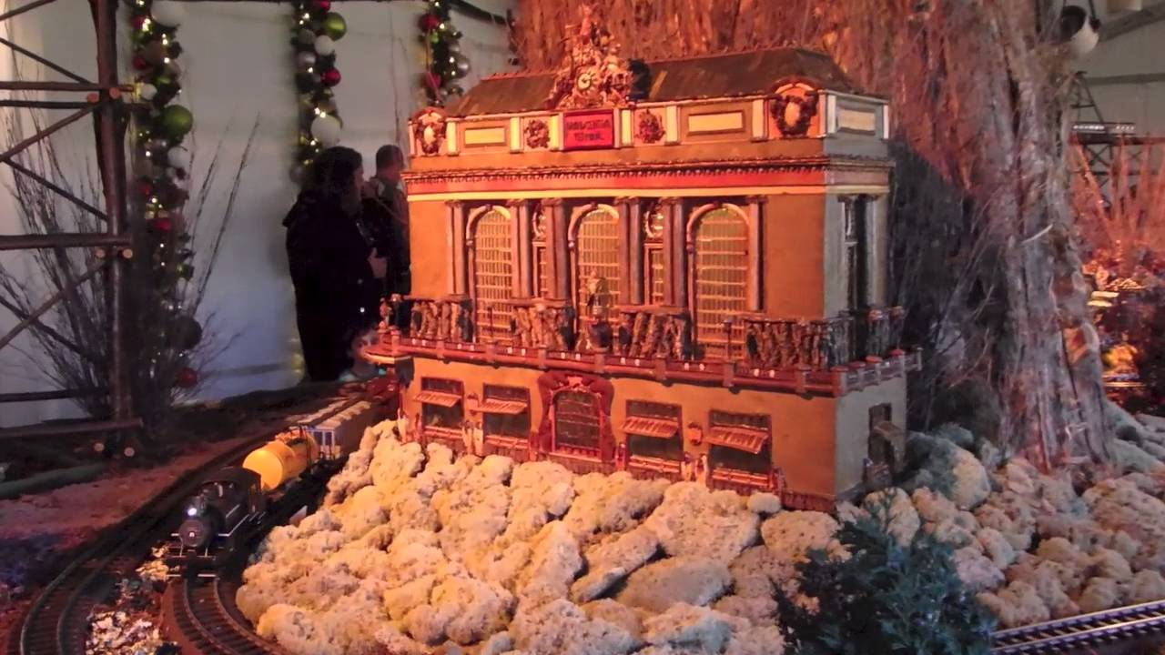 Best holiday train show at new york botanical garden the - New york botanical garden train show ...