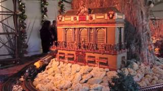 Best Holiday Train Show at New York Botanical Garden 2015 , the Largest ever!