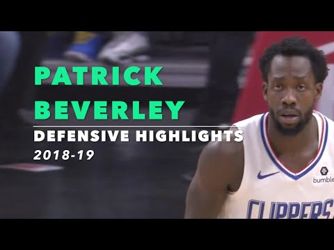 Patrick Beverley Defensive Highlights | 2018-19 | Los Angeles Clippers