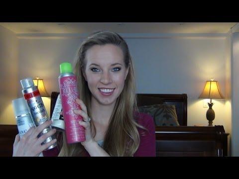 Dry Shampoo Review: Dove,Got2B, Rockaholic, Lush, Bastiste