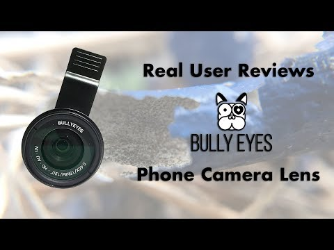 Bully Eyes Wide Angle/ Macro Cell Phone Lens | Real User Review