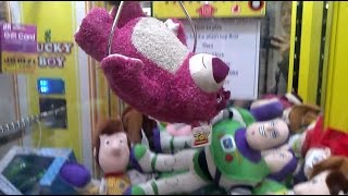 LOTSO TOY STORY 3 WIN!! (A CLAW MACHINE VIDEO 5 YEARS IN THE MAKING!)