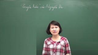 Truyện Kiều - Nguyễn Du Tiết 1 -Cô Nguyễn Thu Hòa