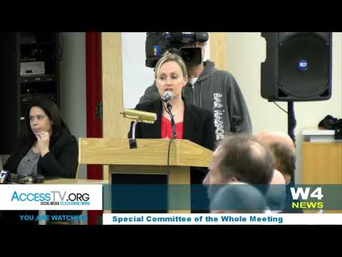W4 News - Special Committee of the Whole - 4/2/2018