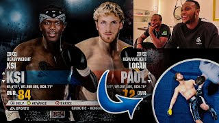 KSI VS LOGAN PAUL 2: FULL FIGHT (VIRTUAL)