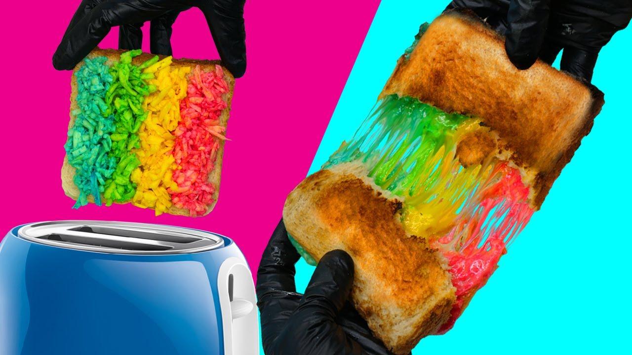 Лайфхаки с тостером. Что еще можно засунуть в тостер кроме хлеба?